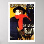Ambassadeurs By Henri de Toulouse-Lautrec poster