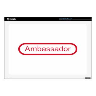 Ambassador Laptop Skins