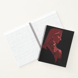 """Ambassador Lisinthir 8.5"""" x 11"""" Notebook"""