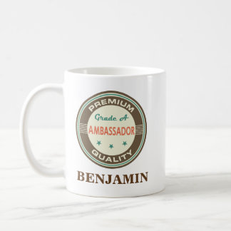 Ambassador Personalized Office Mug Gift