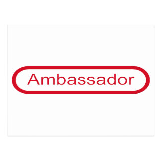 Ambassador Postcard