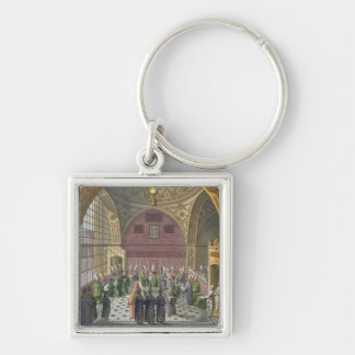 Ambassadors in the Audience Hall of the Grand Vizi Keychain