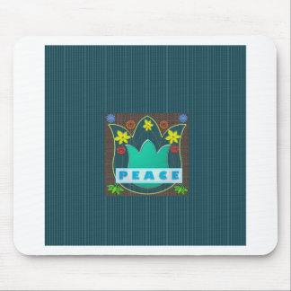 Ambassdor of PEACE Society Nations Artistic GIFTS Mouse Pads
