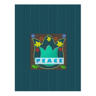 Ambassdor of PEACE Society Nations Artistic GIFTS Postcard