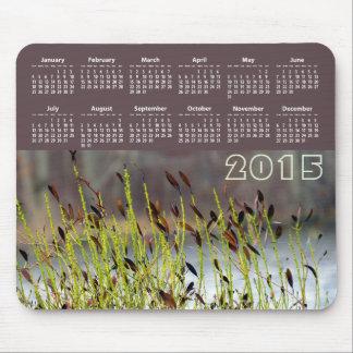 Amber 2015 Calendar Mouse Pad