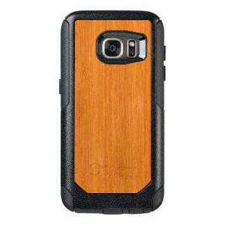 Amber Bamboo Wood Grain Look OtterBox Samsung Galaxy S7 Case