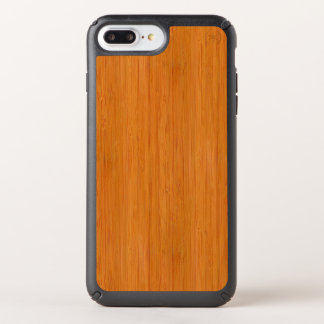 Amber Bamboo Wood Grain Look Speck iPhone Case