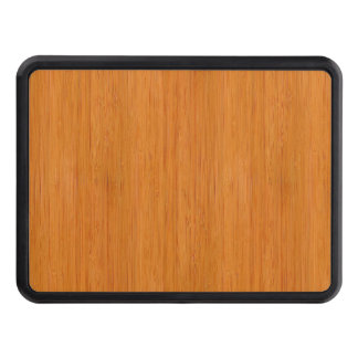 Amber Bamboo Wood Grain Look Tow Hitch Cover