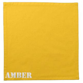 Amber Cloth Napkin