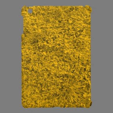 Amber colored Grass iPad Mini Cover