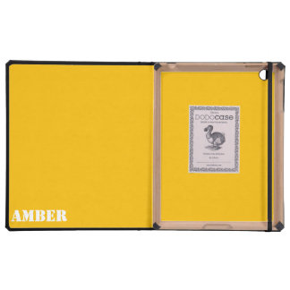 Amber Cover For iPad