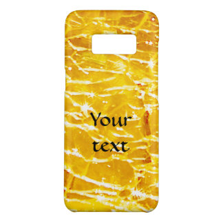 Amber crackled glass photo Case-Mate samsung galaxy s8 case