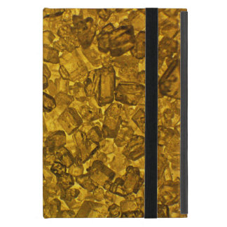 Amber Crystal Case For iPad Mini