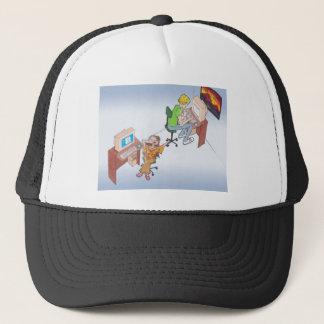 Amber & Drew anime art gallery characters Trucker Hat