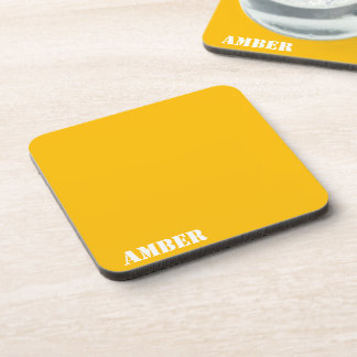 Amber Drink Coaster