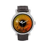 Amber Eye Wristwatch