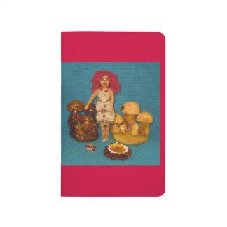 Amber Faerie Doll Journals