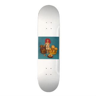 Amber Faerie Doll Skateboard Deck