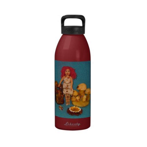 Amber Faerie Doll Drinking Bottles