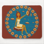 Amber Faerie Mouse Pad