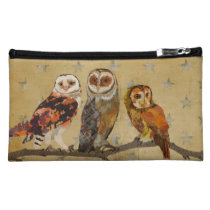 AMBER FEATHERS Cosmetic Bag