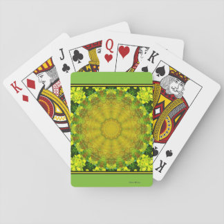 Amber Forest Playing Cards