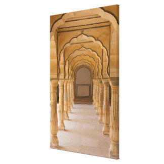 Amber Fort Arched Hall Canvas Print