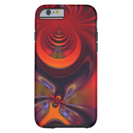 Amber Goddess – Orange and Gold Passion iPhone 6 Case
