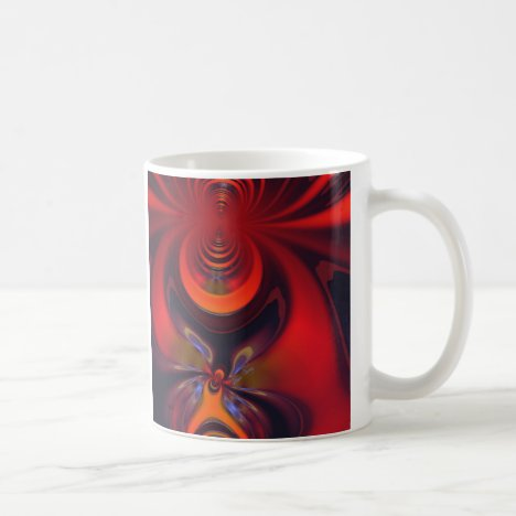 Amber Goddess – Orange and Gold Passion Coffee Mug