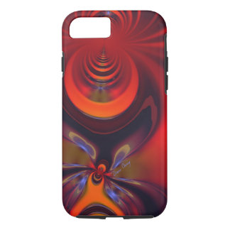 Amber Goddess – Orange and Gold Passion iPhone 8/7 Case