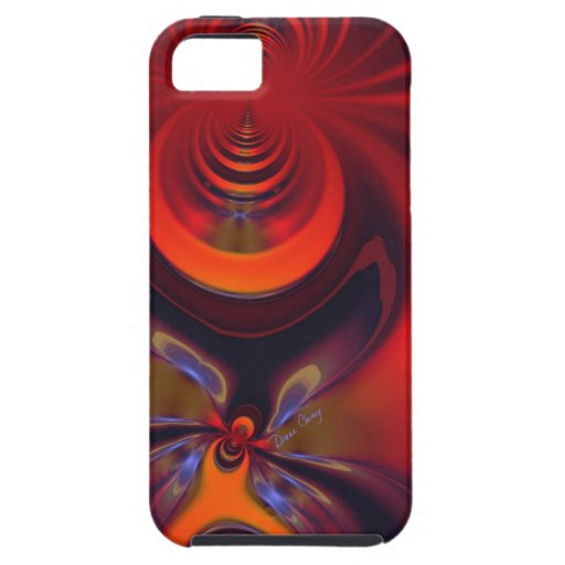 Amber Goddess – Orange and Gold Passion iPhone SE/5/5s Case