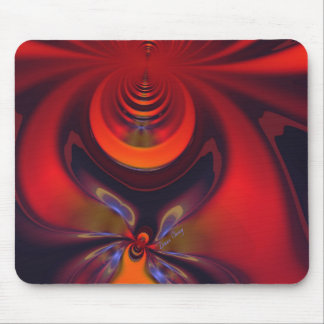 Amber Goddess – Orange and Gold Passion Mouse Pad