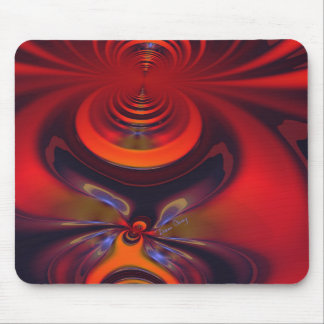 Amber Goddess – Orange and Gold Passion Mouse Pads