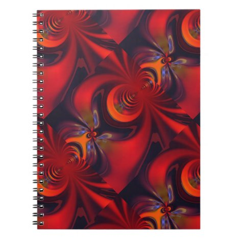 Amber Goddess – Orange and Gold Passion Notebook