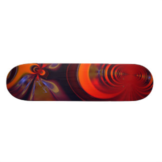 Amber Goddess – Orange and Gold Passion Skateboard