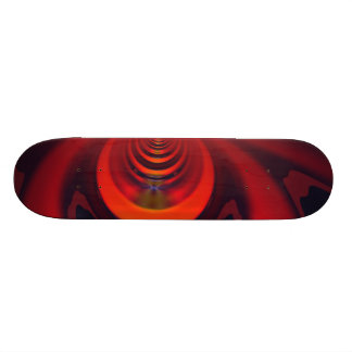 Amber Goddess – Orange and Gold Passion Skateboard Deck