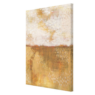 Amber Horizon Abstract Print | Melissa Averinos