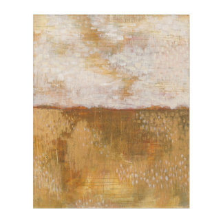 Amber Horizon Abstract Print | Melissa Averinos Acrylic Wall Art