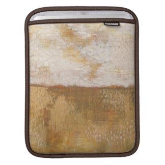 Amber Horizon Abstract Print | Melissa Averinos Sleeve For iPads