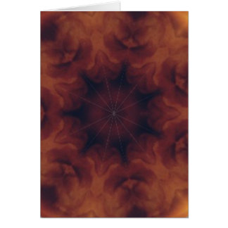 Amber kaleidoscope cards