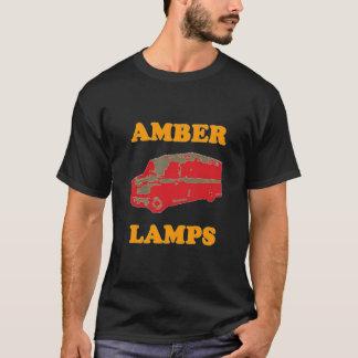 AMBER LAMPS (Black) T-Shirt