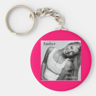 AMBER Love one another keychain