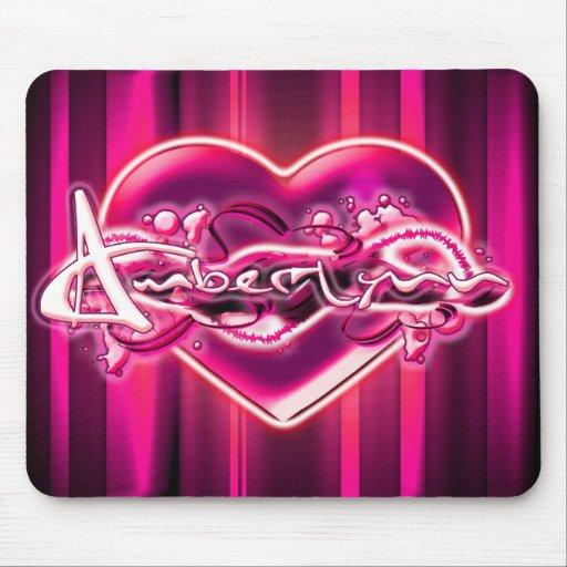 Amber-Lynn Mouse Pad