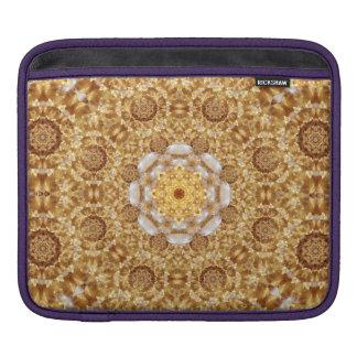 Amber Mandala iPad Sleeve