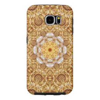Amber Mandala Samsung Galaxy S6 Case