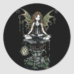 """Amber"" Nature Lotus Fairy Stickers"