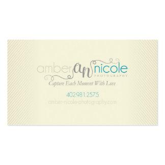 Amber Nicole Photography   Custom Business Card
