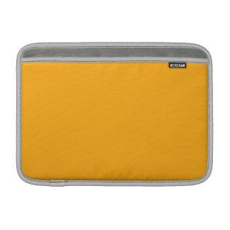 Amber Orange MacBook Sleeves