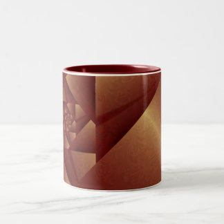 Amber Origami Mug