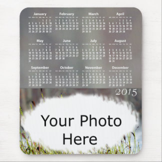 Amber Photo 2015 Calendar Mouse Pad